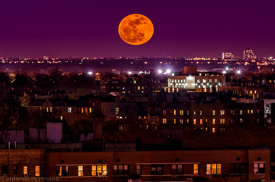 Moonrise Over Brooklyn II