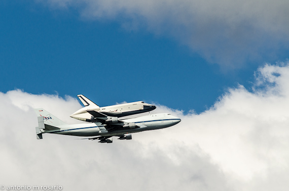 Space Shuttle Enterprise NYC Flyby