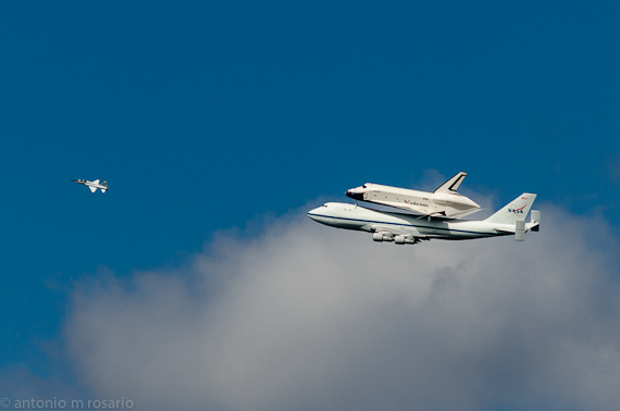 Space Shuttle Enterprise Flyby IV