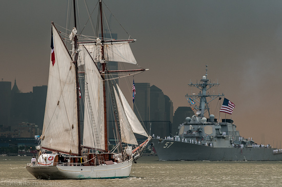 Op Sail 2012 – Face Off