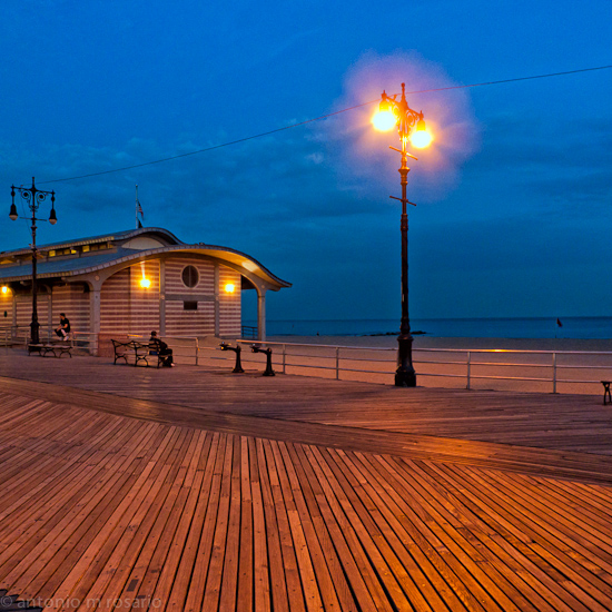 Night on the Boardwalk