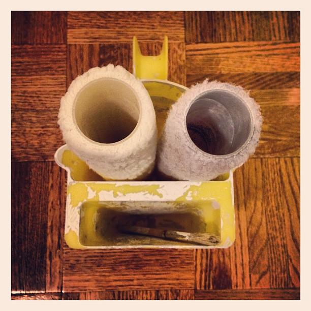Blahhhh. It's Paint Roll Man.
