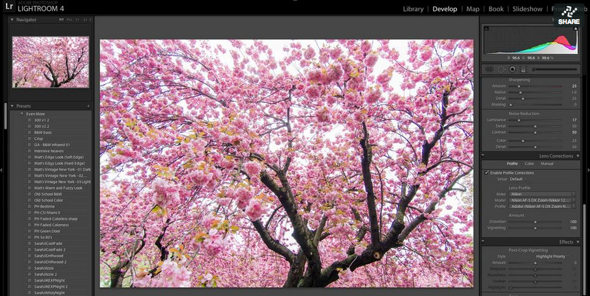 #Lightroom4 Tip – Removing Fringing & Chromatic Aberrations