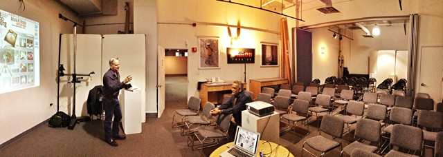 Interesting turnout for our workflow seminar on Wednesday! (With @jeanmiele & @enfoco)