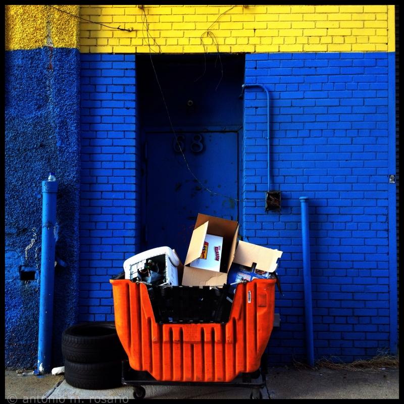 Orange and Blue Series