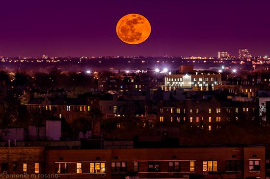 Moonrise Over Brooklyn II