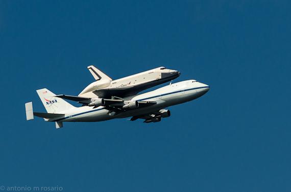 Space Shuttle Enterprise Flyby NYC II