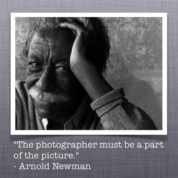 #QuotePhoto of the Day #ArnoldNewman