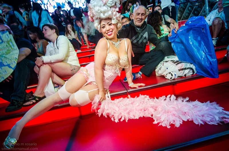 A Times Square Burlesque Frolic: just like the good old days.