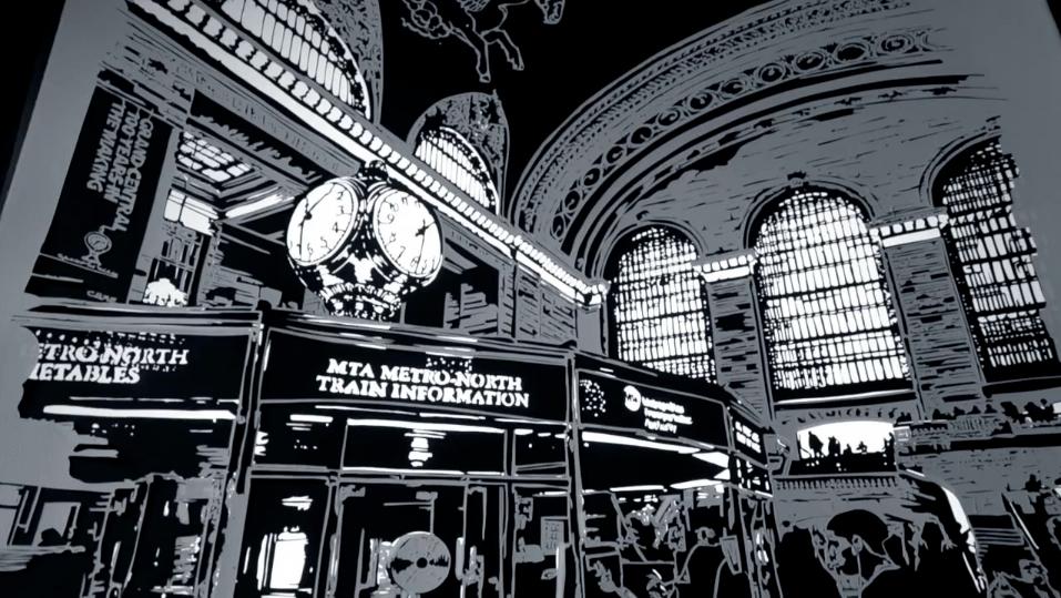 """Thomas Witte: """"Cutting Shadows"""" – Grand Central Centennial Papercut Show."""