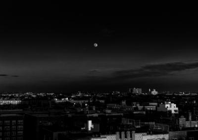 A Moonrise over Brooklyn